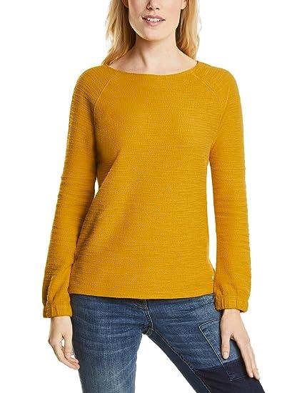 cbbe591b338063 Cecil Damen Sweatshirt 311786, Gelb (Golden Lemonade 11197), Small