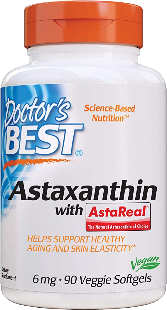 Doctor's Best Vegan Astaxanthin