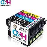 Pack de 6 XL TONER EXPERTE® Compatibles 33XL Cartuchos de Tinta ...