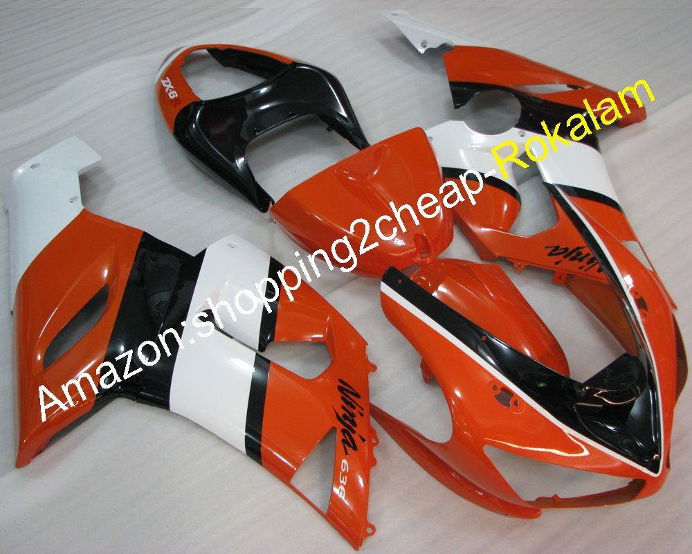 Hot Sales, para Kawasaki 05 06 Fairing Ninja 636 ZX6R ZX-6R ...