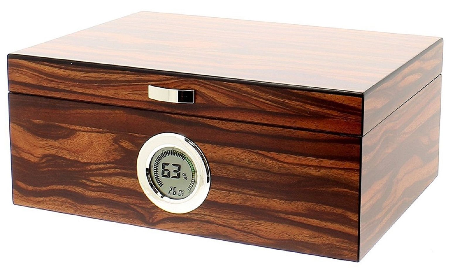 Humidor hold 50 cigars electric (digital) hygrometer
