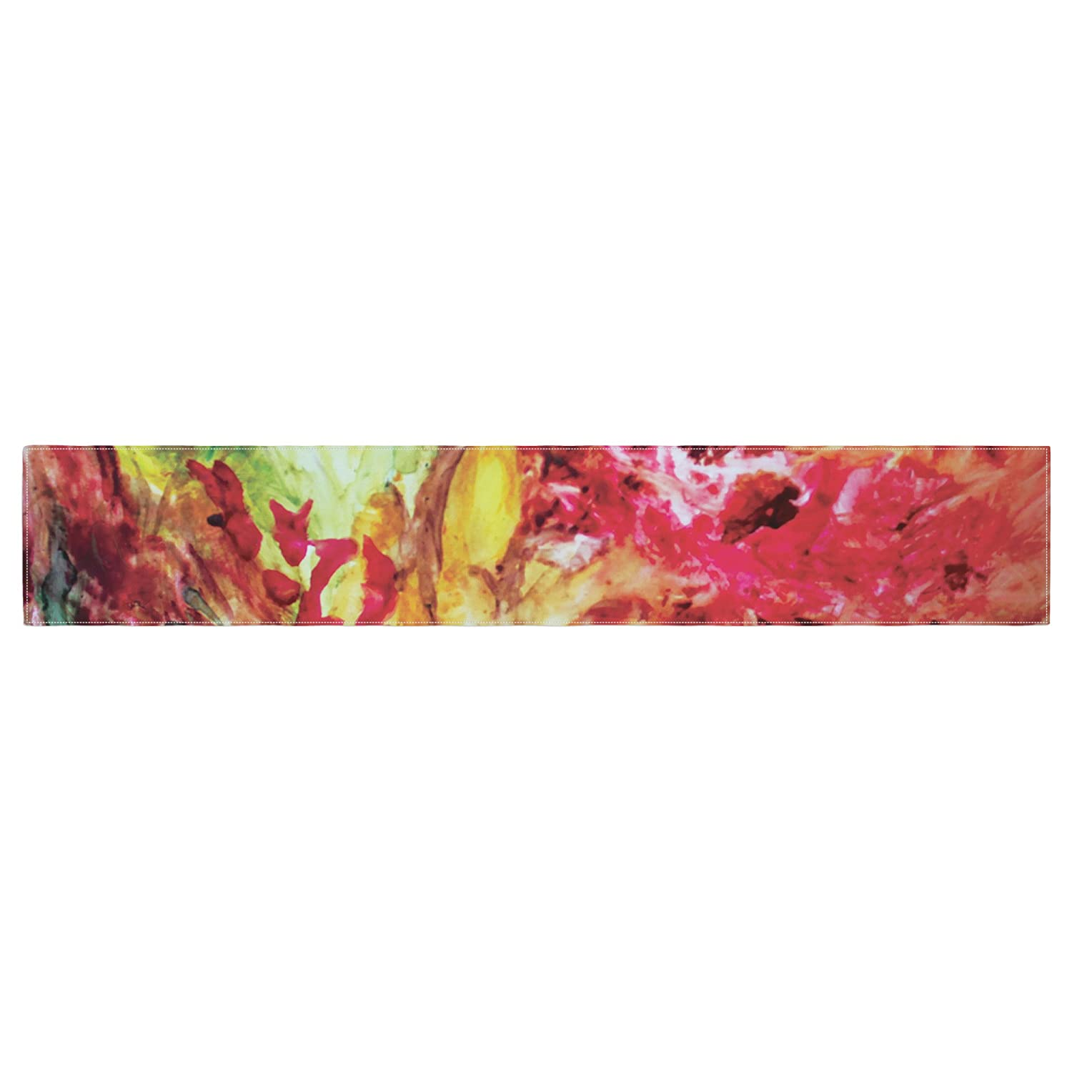 Kess InHouse Mary Bateman Passion Flowers I Table Runner