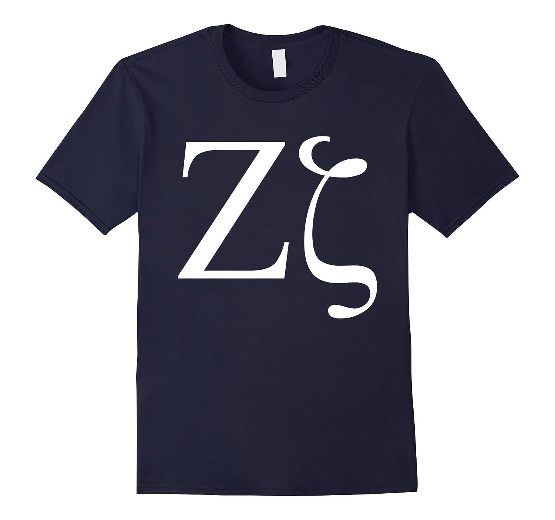 Zeta T-Shirt Greek Letter Alphabet Greece Language Tee-TH