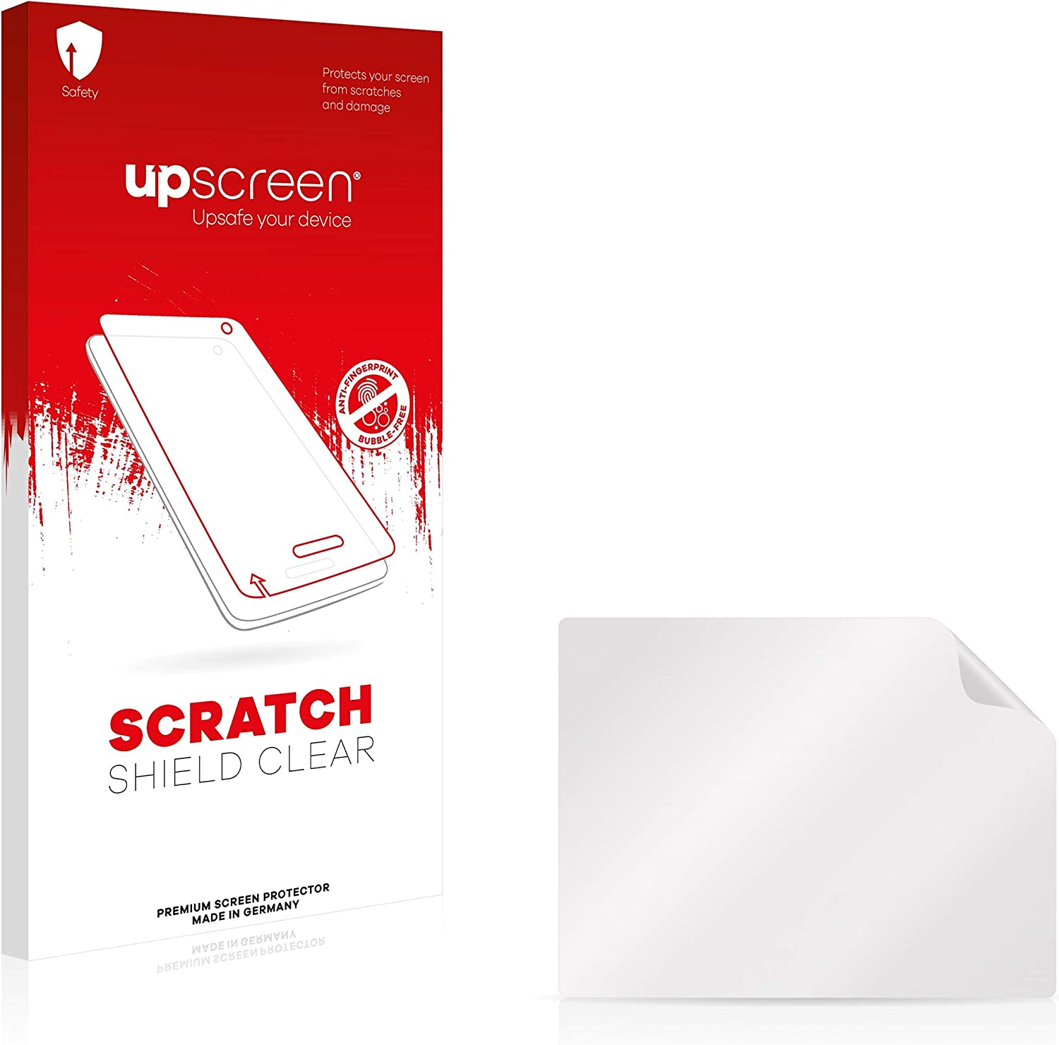 Scratch Shield Clear Screen Protector for Atos Worldline Yomani Strong Scratch Protection High Transparency Multitouch Optimized upscreen