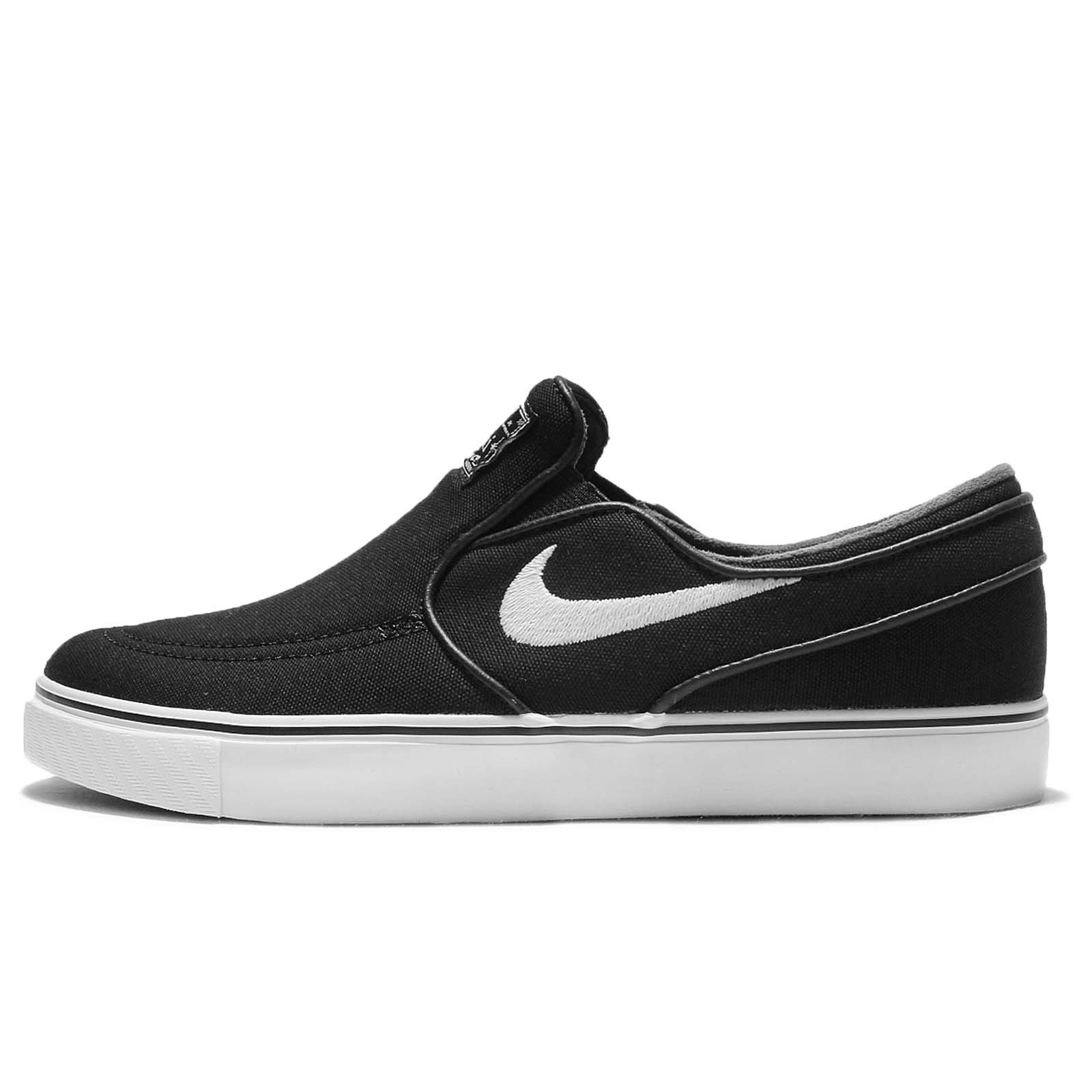 official photos 52275 d8d38 Galleon - Nike Men s Zoom Stefan Janoski Slip CNVS Black White Black Skate  Shoe (4)