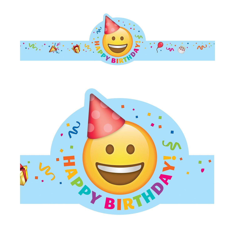 Creative Teaching Press Incentive, Award Emoji Fun Happy Birthday Crown, CT 2565