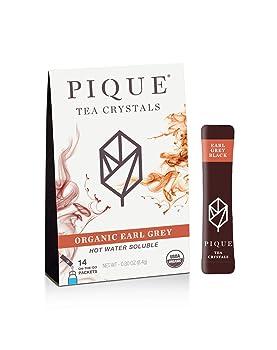 Pique Organic Black Tea Crystals Earl Grey Tea
