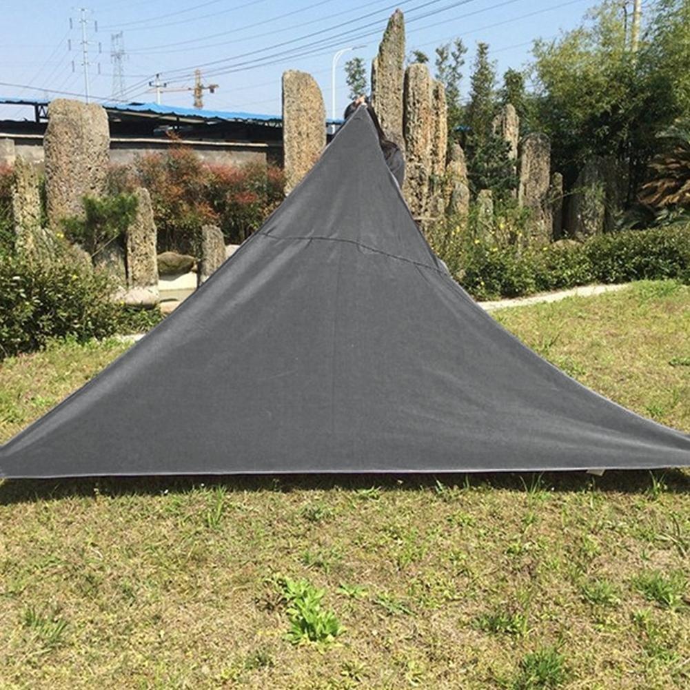 Toldo triangular de protección solar, cubierta para al aire libre, patio, jardín, piscina, para acampar, ir de pícnic: Amazon.es: Salud y cuidado personal