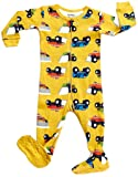 DinoDee Footed Pajama Sleeper 100% Cotton Truck