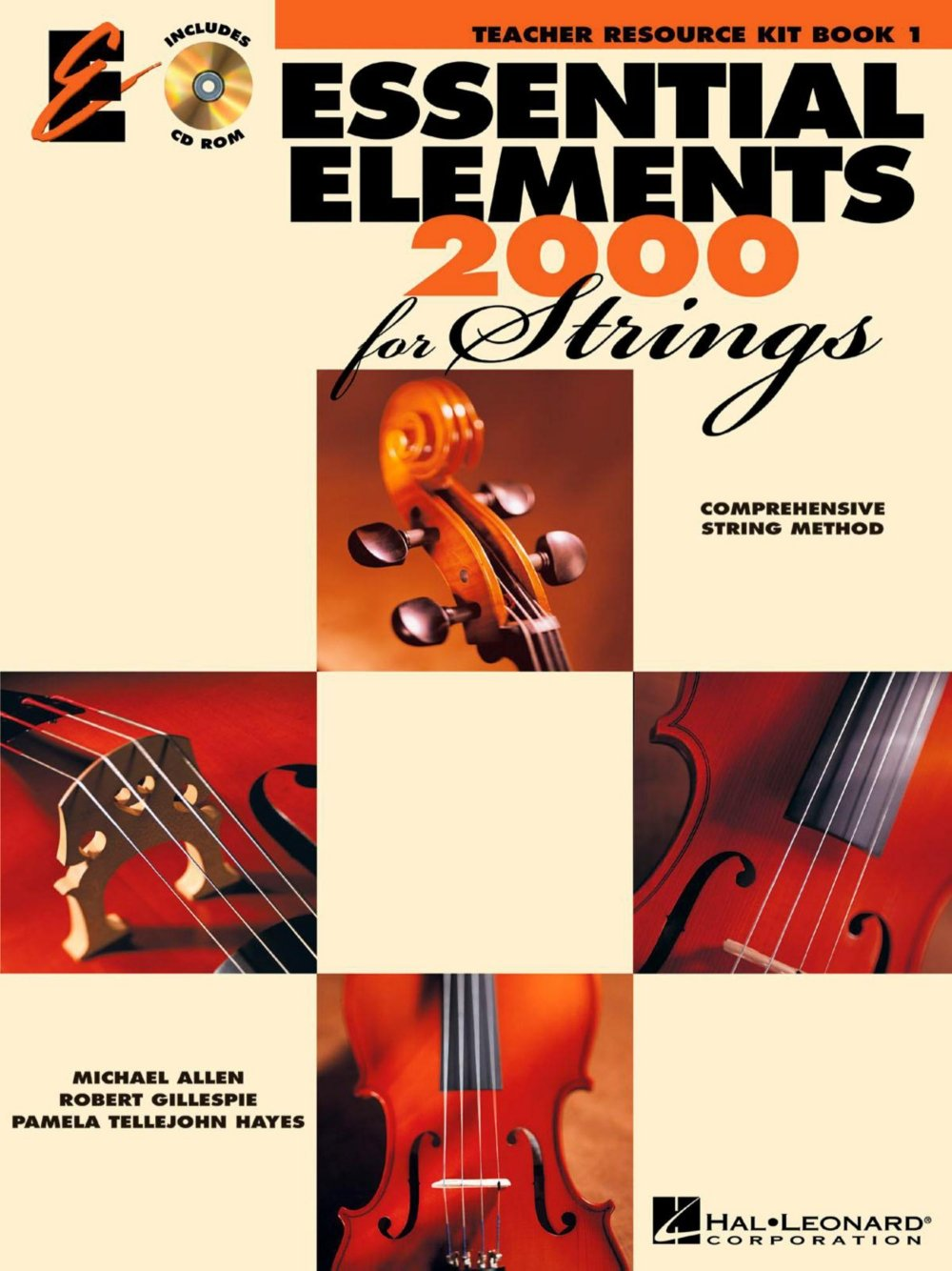 Amazon.com: Hal Leonard Essential Elements 2000 for Strings - Teacher  Resource Kit (Book 1 with CD-ROM): Hal Leonard: Musical Instruments