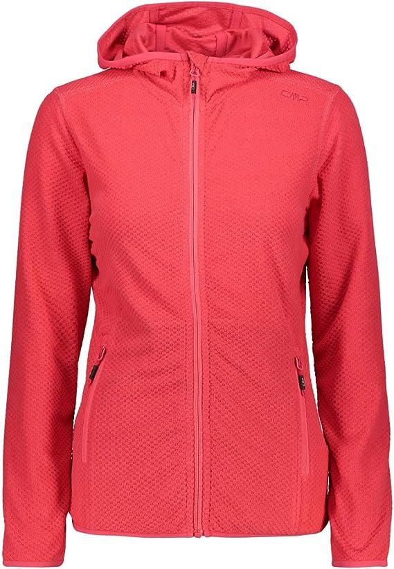 FLLI Campagnolo CMP Damenjacke Damenfleece Jacke Fleece Fleecejacke grau