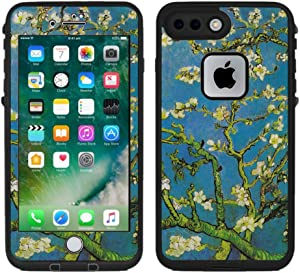 Teleskins Protective Designer Vinyl Skin Decals/Stickers Compatible with Lifeproof Fre iPhone 7 Plus/iPhone 8 Plus Case -Vincent Van Gogh Almond Blossoms Design Patterns - only Skins and not Case