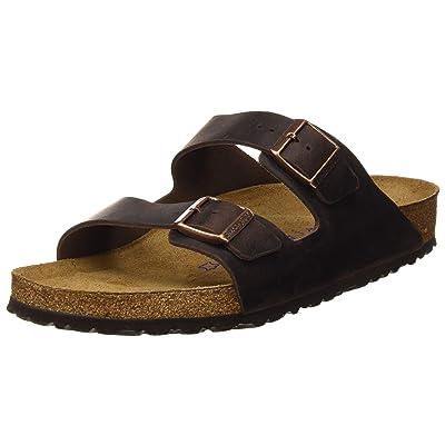 Amazon.com | Birkenstock Women's Arizona 2-Strap Cork Footbed Sandal | Slides