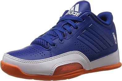 adidas 3 Series 2015 NBA K - Zapatillas para niño, Color Azul/Blanco/Naranja: Amazon.es: Zapatos y complementos