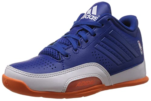 adidas 3 Series 2015 NBA K - Zapatillas para niño, Color Azul/Blanco/Naranja, Talla 40: Amazon.es: Zapatos y complementos