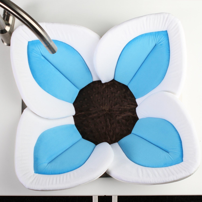 Amazon.com : Blooming Bath Lotus - Baby Bath (Gray/Light Blue) : Baby