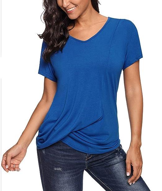 Blusas de moda color azul marino