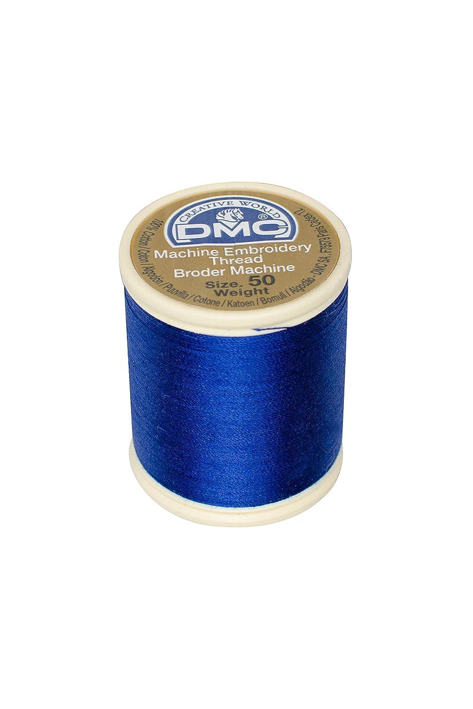 DMC 237A-50796 Cotton Embroidery Thread 50WT 547Yds Dark Royal Blue