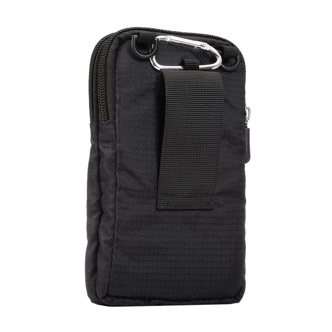 Borsa Clip Cintura 6.5 Borsello da Uomo Sacchetto con Clip Cintura Pochette Waist Bag Belt Pouch Borse a Mano Regolabile Porta Carte di Credito Cellulare Portafoglio Borse a Spalla Telefono