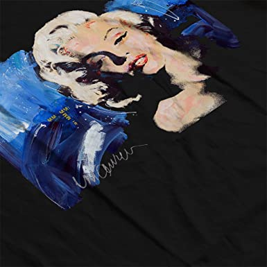 Sidney Maurer Original Portrait of Marilyn Monroe Blonde Bombshell Women s Hooded  Sweatshirt  Amazon.co.uk  Clothing 00e7b5a88e6