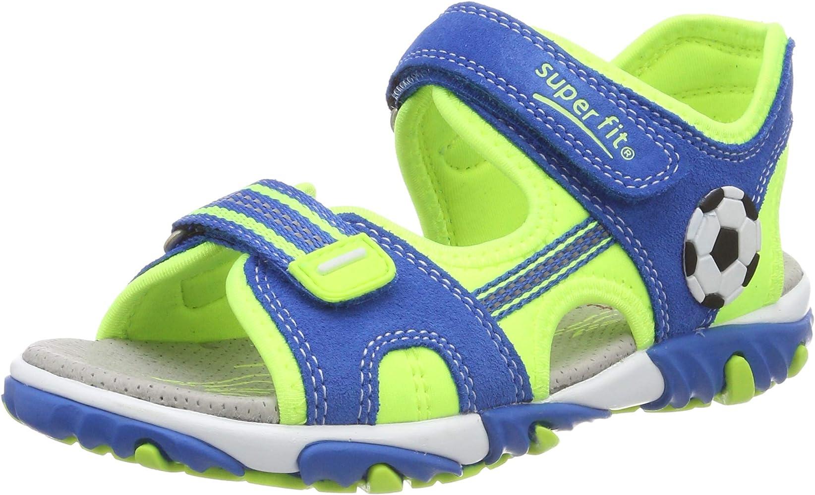 Basura A fondo vacío  Amazon.com: Superfit Mike - Sandalias de tobillo para niños, 4 M US: Shoes