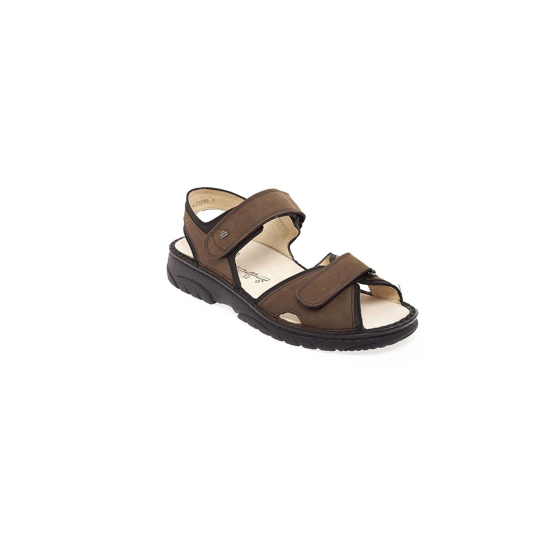 Finn Comfort - Sandalias de vestir para hombre 8 1/2|marrón - marrón