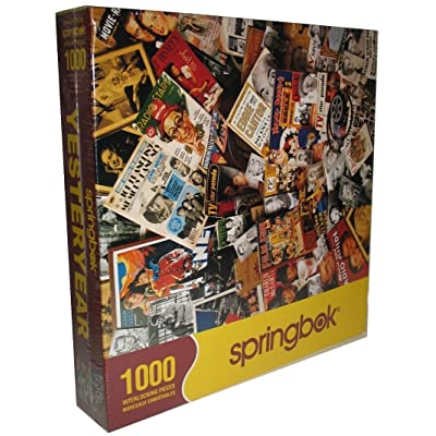 "Springbok ""Yesteryear"" 1000 Piece Jigsaw Puzzle: Toys & Games"