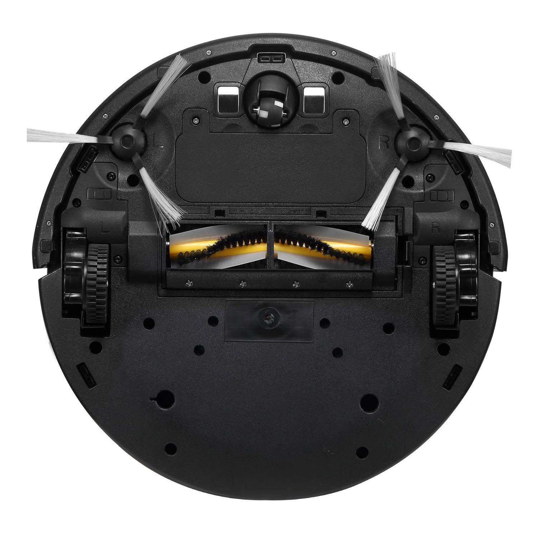 Eureka I300 Robot Aspirador con 1300Pa Potente Succión, Infared Sensor Tech AntiDrop and Collision, Autoadhesiva, Funciona para Suelo Duro y Alfombra, ...