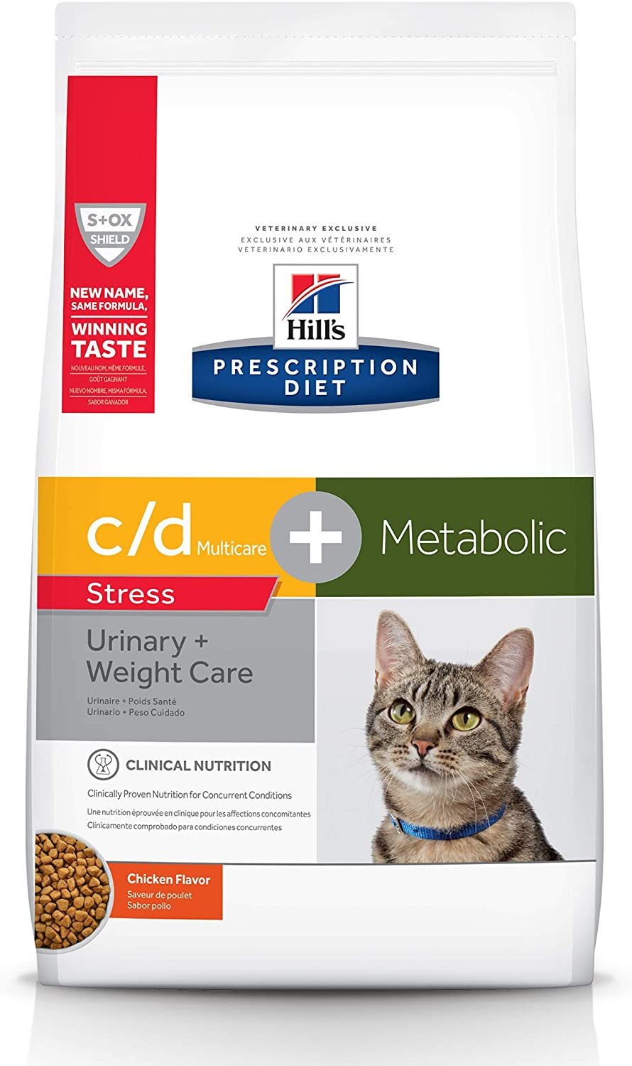 Hill's Prescription Diet Pet Nutrition Metabolic + Urinary/Weight + Urinary Care Canned Cat Food