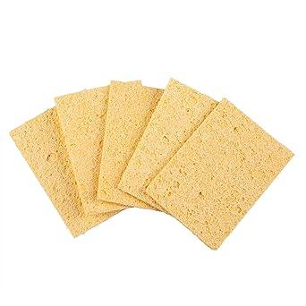 TRIXES 5 Esponjas de limpieza para máquina soldadora