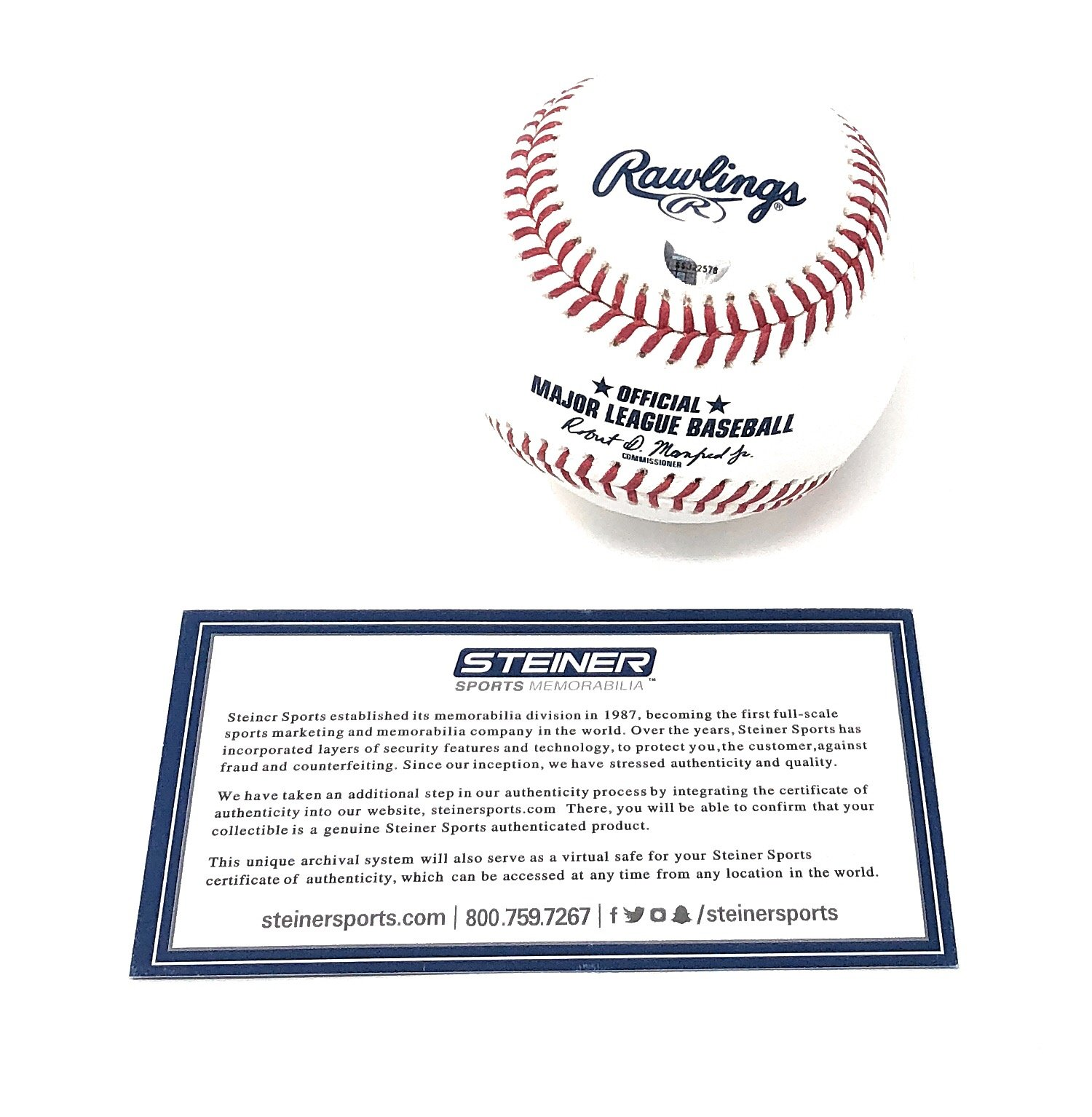 Miguel Andujar New York Yankees Signed Autograph Official MLB Baseball Steiner Sports Certified