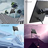 Rockpals Long Range HDTV Antenna, Supports Multiple TVs - 4K HD 1080P Amplified High Reception Indoor Outdoor Digital TV Antenna - VHF UHF Channels, w/Amplifier Signal Booster & 33FT Coaxial Cable