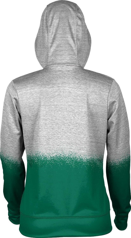 ProSphere Wright State University Girls Zipper Hoodie School Spirit Sweatshirt Spray Over