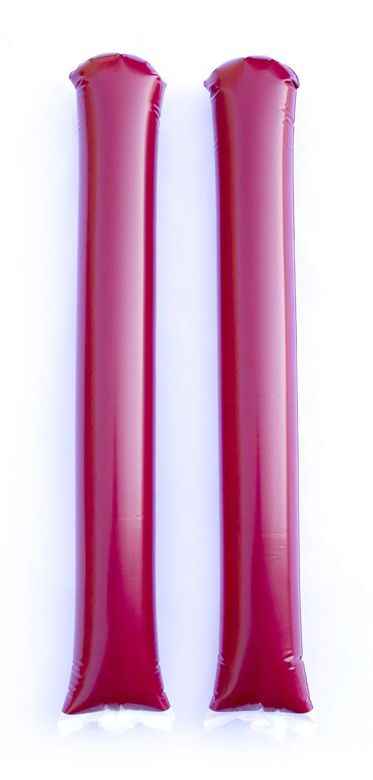 Promote Your Team Spirit Sticks Maroon - 50 Pairs by Spirit Sticks