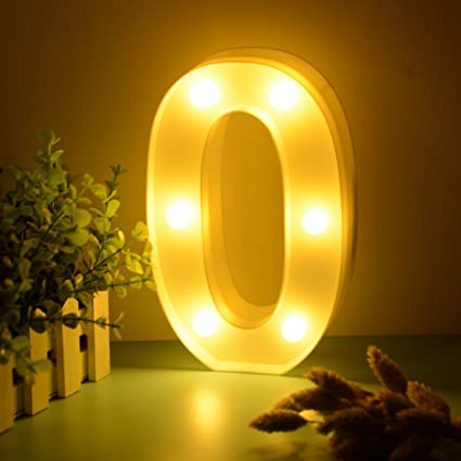 amazon com tita dong light up led numbers white marquee lights sign