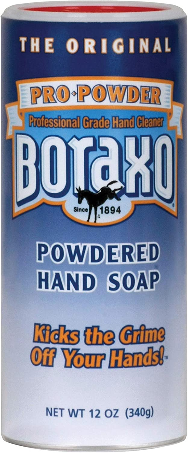 Henkel BORAXO Powdered Hand Soap,12 oz (Pack of 12): Office Products