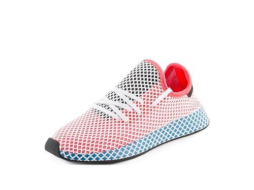 hot sales b0e1a 7a9a5 Adidas Deerupt Runner Originals Zapatillas de Running para Hombre, Solar  RedBlue Bird,