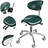Happybuy Standard Dental Mobile Chair Saddle