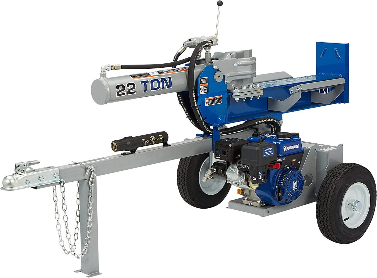 Powerhorse Horizontal/Vertical Log Splitter - 22 Tons, 212cc Engine