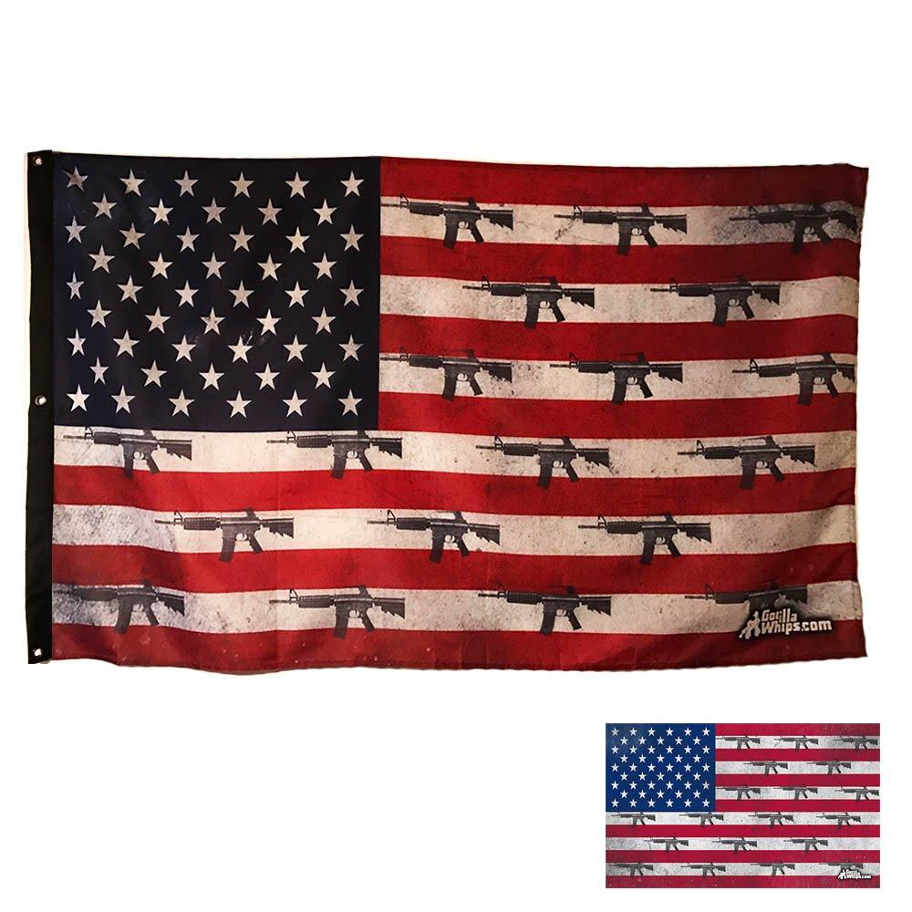Wildcat Teryx Rhino America 3.5/' ATV Whip Flag US Marines