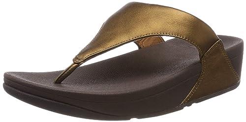 5a201e1e7d9ff3 Fitflop Women s Lulu Leather Toepost Open Toe Sandals  Amazon.co.uk ...