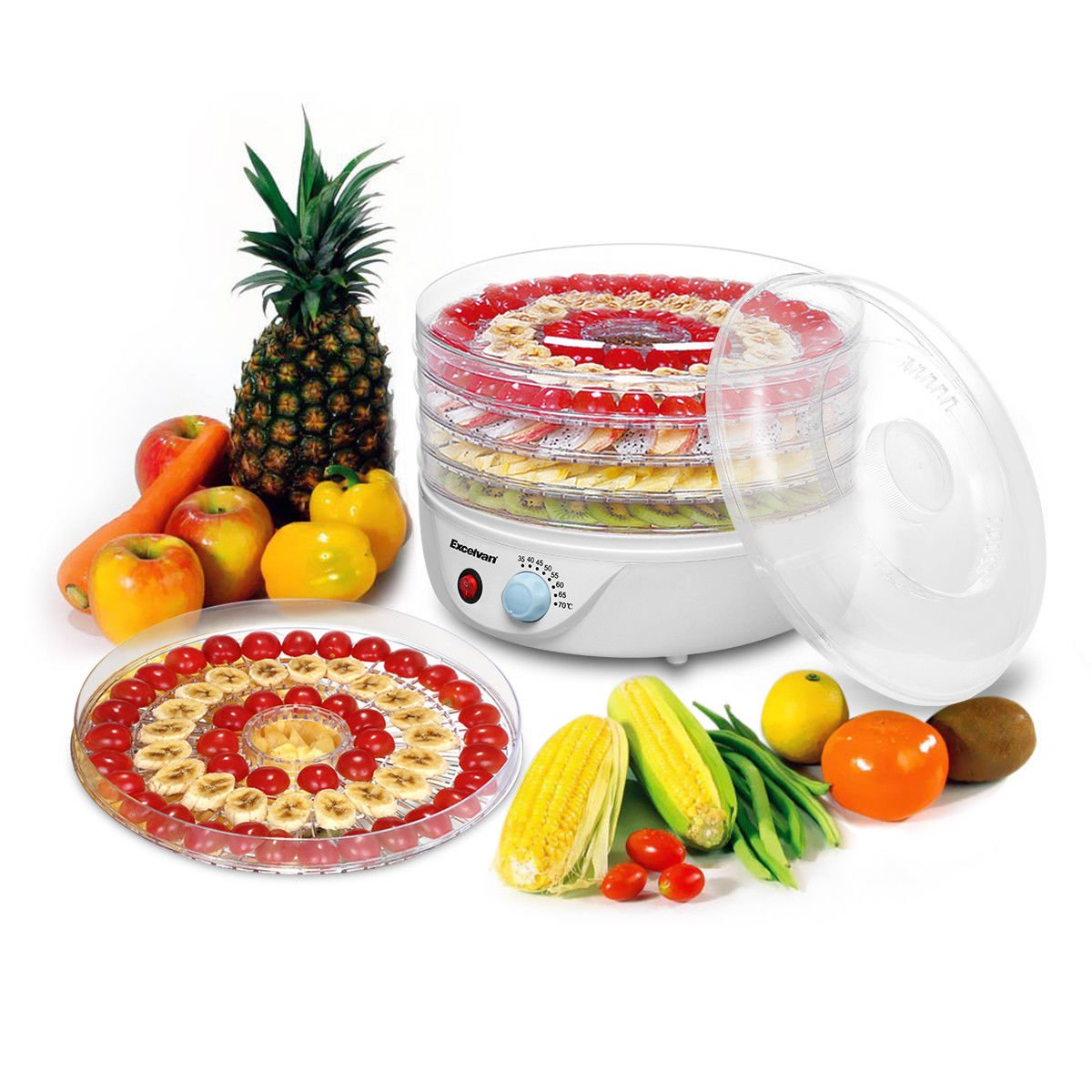 Unbrand/Great supply Electric Food Dehydrator Fruit Vegetable Dryer by Unbrand/Great supply (Image #4)