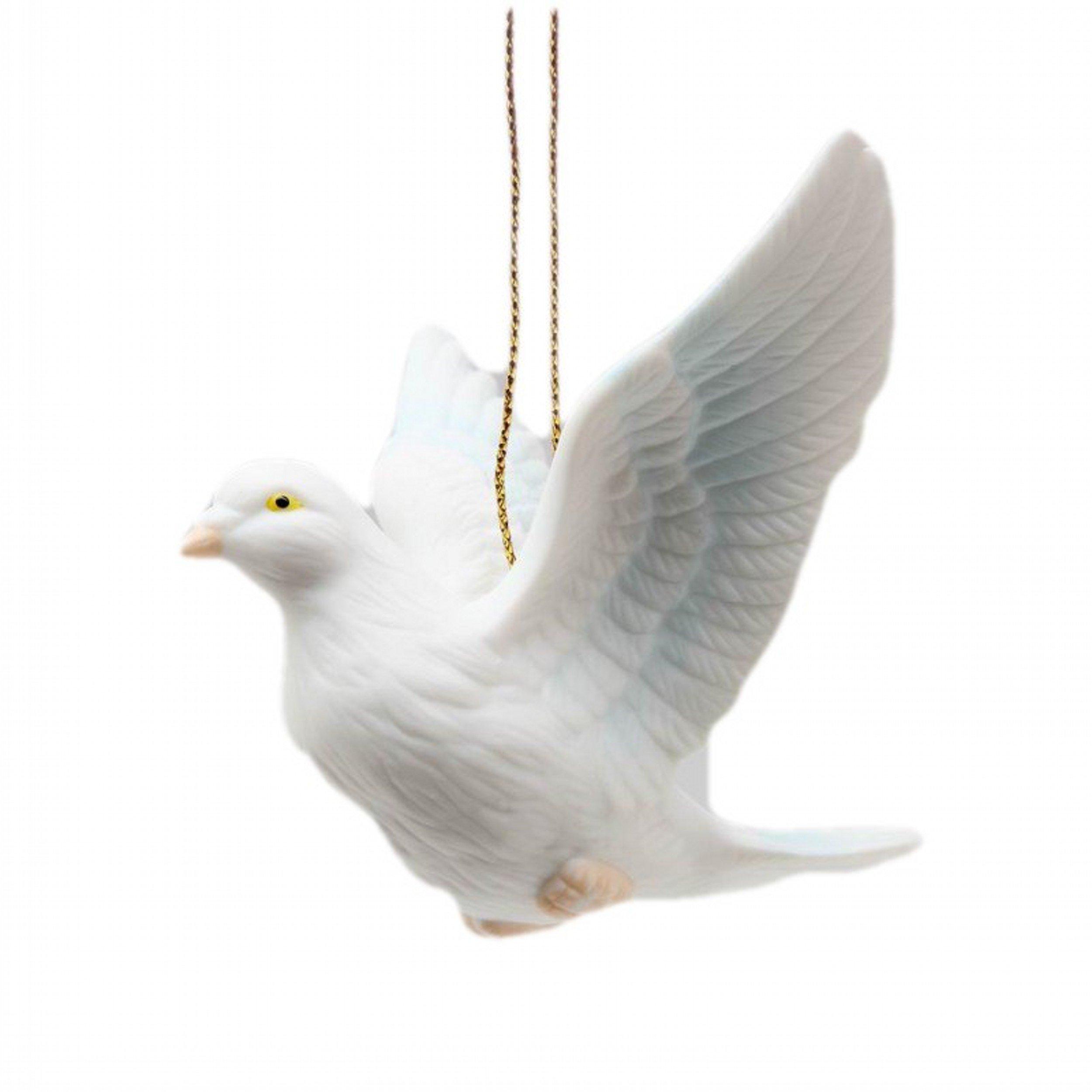 Cg B9024 3.5'' Dove Figurine Flying Christmas Ornament
