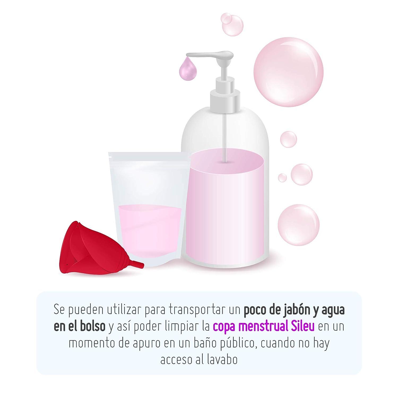 Bolsas de Recolección de Muestra de Orina 100 ml Desechables - Cierre Hermético - Pruebas Médicas - Tests de embarazo, Ovulación, Gota, Salud, ...