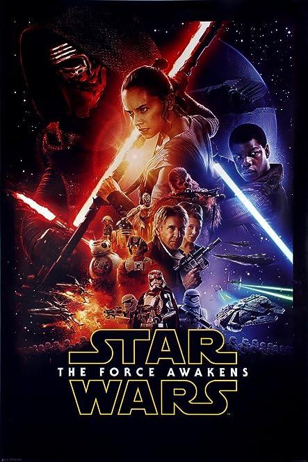 Resultado de imagem para the force awakens poster