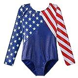 Gymnastics Leotards for Toddler Girls Patriotic