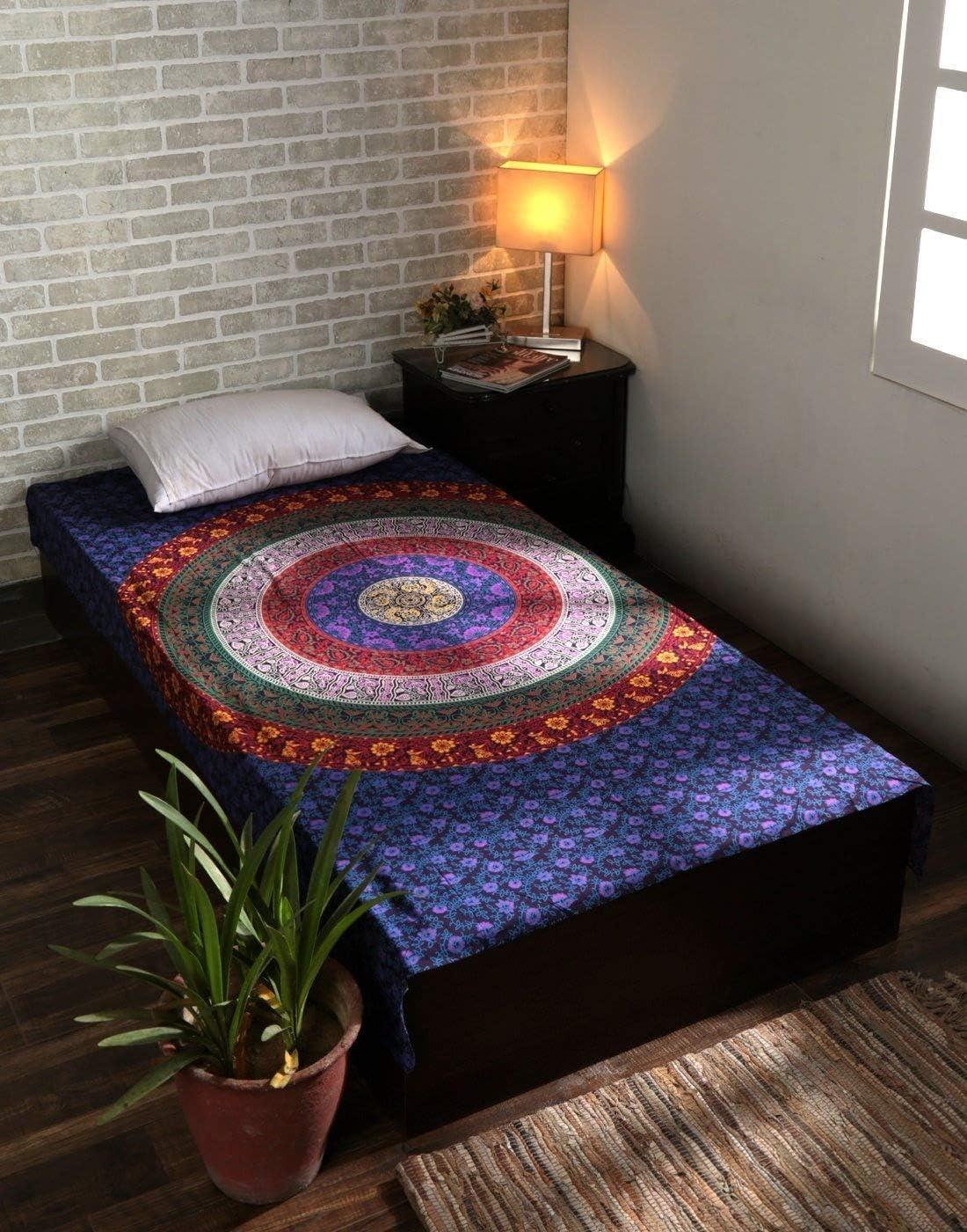 arredamento camera arazzo viola indiano picnic arazzi mandala boh/émien per copriletto asciugamano mare hippie 213 x 137 cm Arazzo viola per decorazioni murali