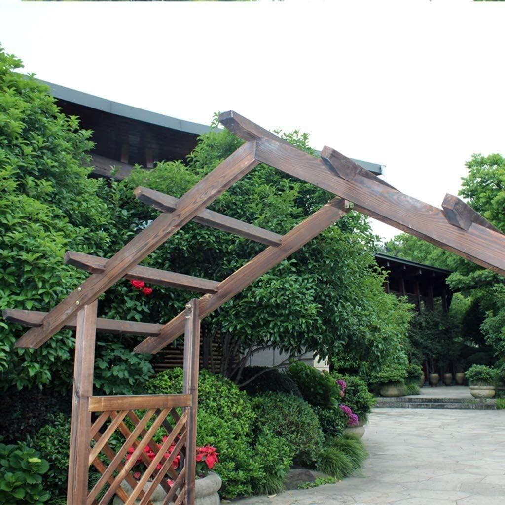 BDBT jardín de Madera Arbor Arco Enrejado, Enrejado Exterior ...