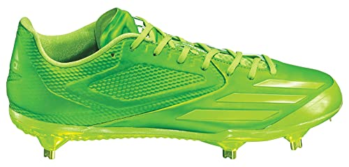 e3b8c2a215cd Adidas New Adizero Afterburner 3 E Baseball Metal Cleats Solar Green Size  14 M