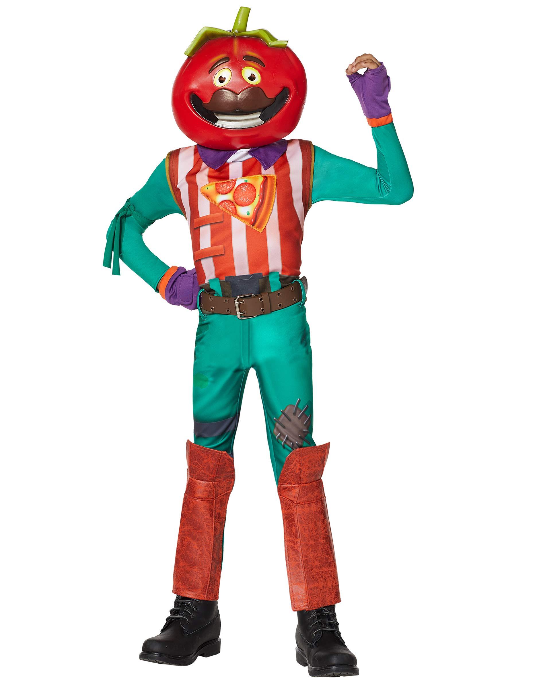 Spirit Halloween Boys TomatoHead Fortnite Costume
